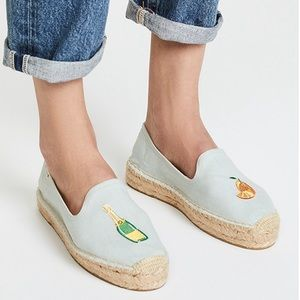 Soludos 'Mimosa' Platform Smoking Slipper